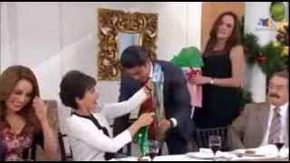 Cynthia , Victor Garcia , Betty y Arap CENA NAVIDEÑA VENTANEANDO 2013 Pt 2