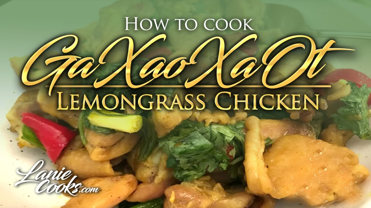 How To Cook With Lemongrass Youtube