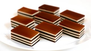 Bánh Thạch Flan Phô mai -COFFEE CREAM LAYERED JELLO recipe