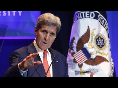 Kerry Says Climate Change Is a National Security Issue