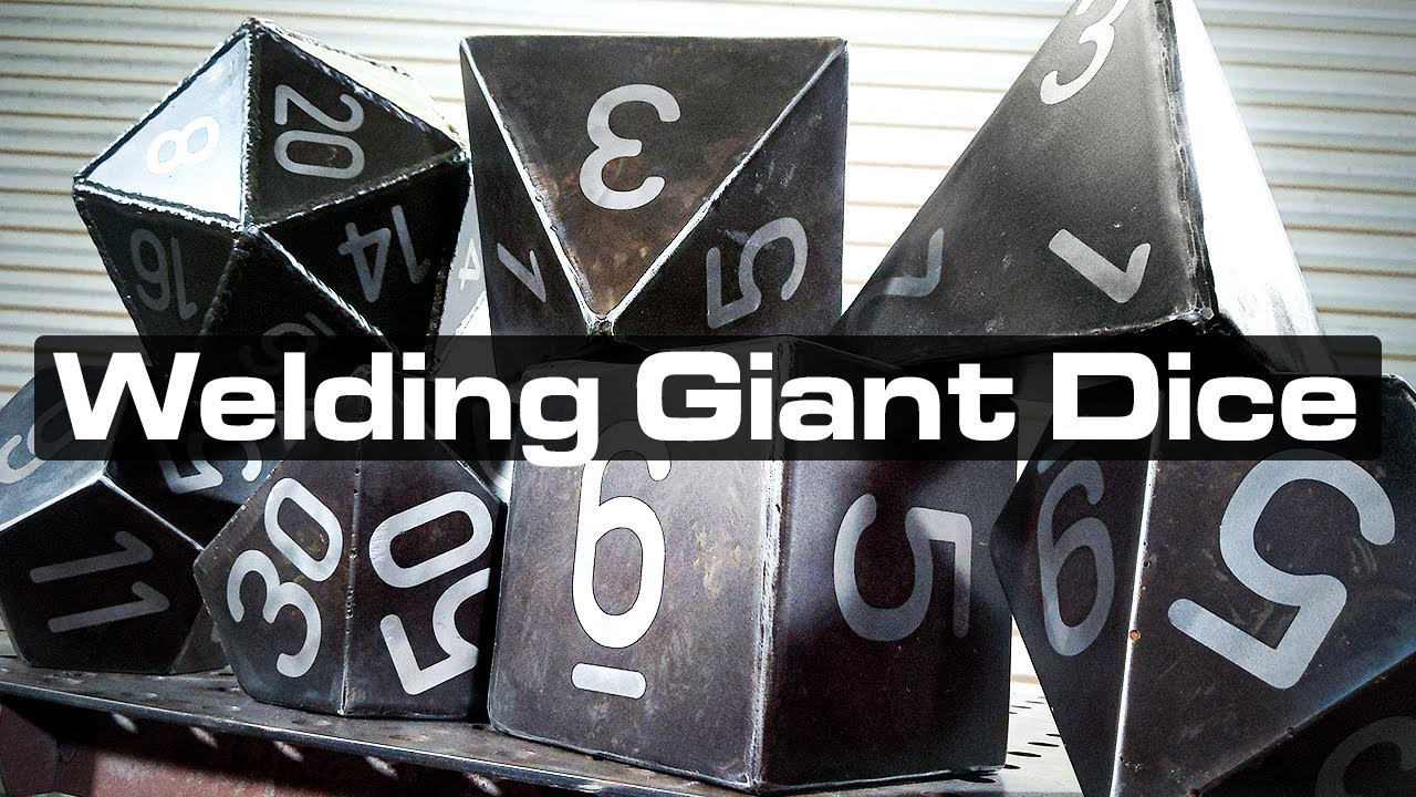 Welding Giant Polyhedral Dice