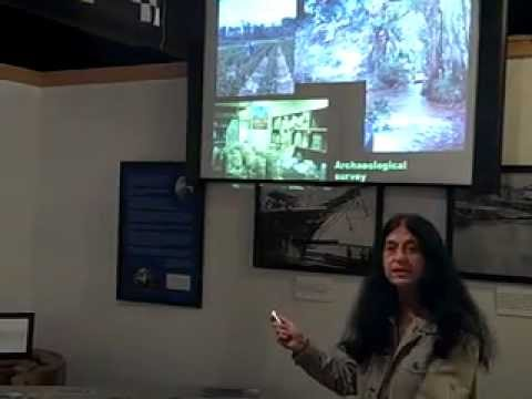 Archaeologist Dr. Nancy White Lectures at the Apalachicola Maritime Museum 12-08-12