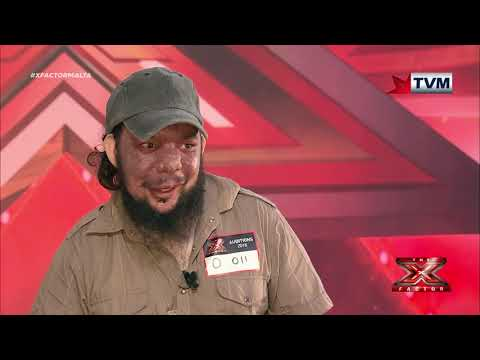 X Factor Malta - Auditions - Day 4 - Glenn Buhagiar