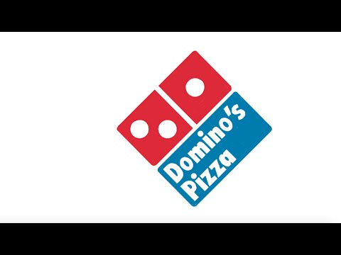 Domino's pizza logo ~H - YouTube Dominos Pizza
