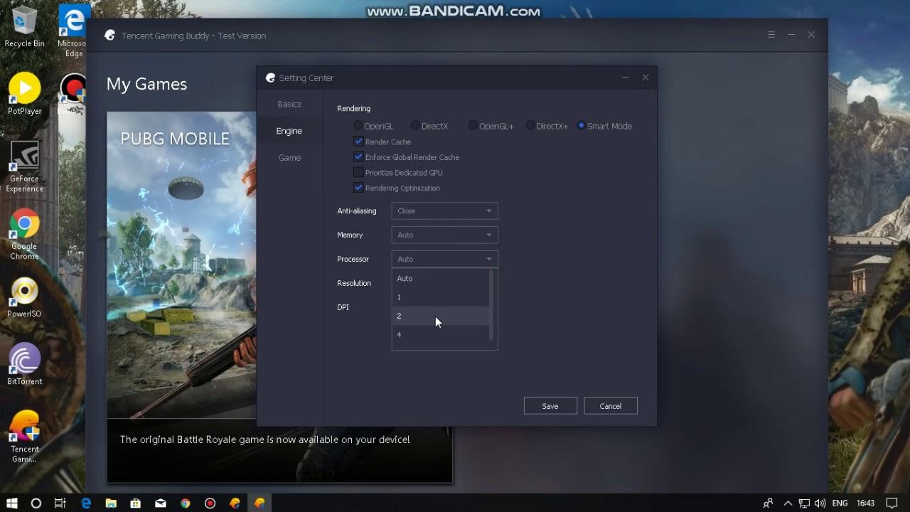 Pubg Tencent Gaming Buddy 100 Cpu Usage Bug Fix Youtube