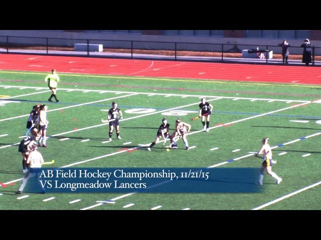 Acton Boxborough Varsity Field Hockey vs Longmedow 11/21/15