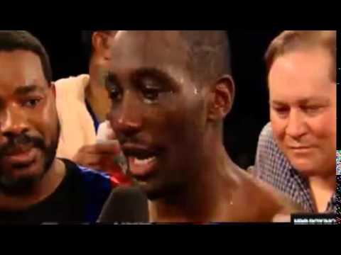 Terrance Crawford KO Yuriorkis GAMBOA Post Fight Interview