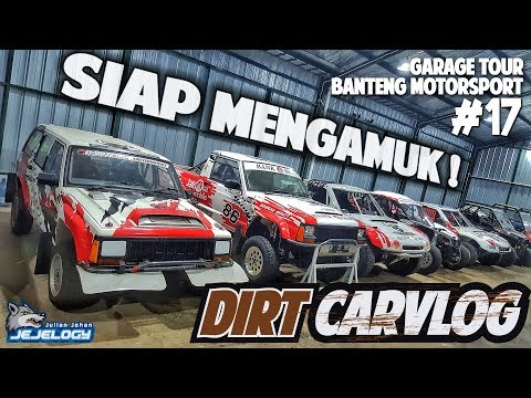 Garage Tour : Banteng Motorsport | DIRT CARVLOG #17