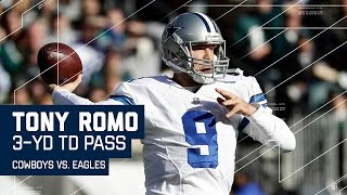 Tony Romo Leads TD Drive on His 1st Game of the Season! | NFL Week 17 Highlights