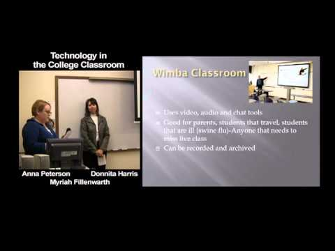 Technology in the College Classroom