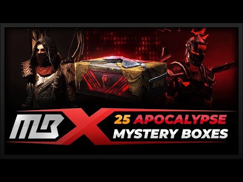 [PATH OF EXILE] – 25 APOCALYPSE MYSTERY BOXES - INCURSION LEAGUE
