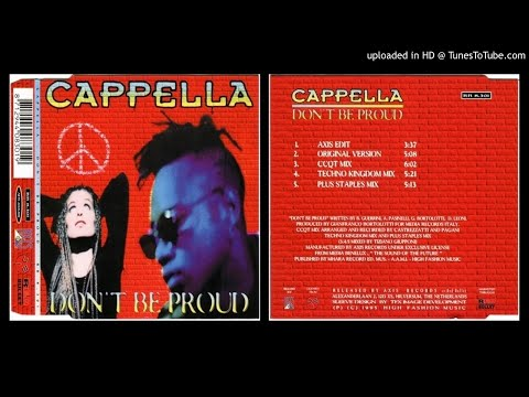 Cappella – Don't be Proud (Original Version – 1995)