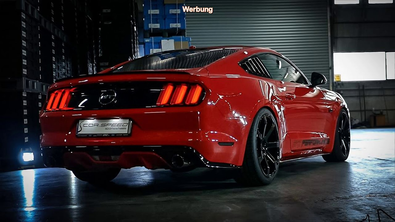 tuning ford mustang gt mit 20 zoll cor speed sports felgen youtube. Black Bedroom Furniture Sets. Home Design Ideas