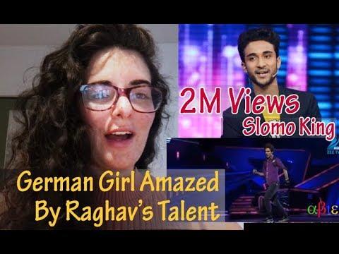 German Girl Watch Raghav CROCKROAXZ Juyal Dance