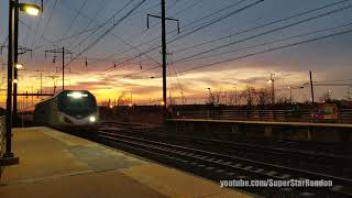 Amtrak Silver Meteor Train No. 98 with 4 Private cars