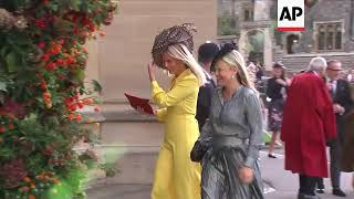 Guests Including Julian Fellowes Arrive For Princess Eugenie's Wedding
