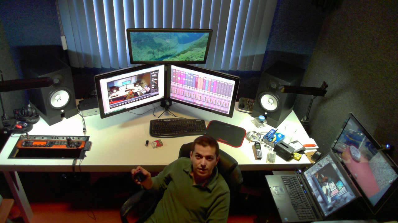 Demo breve de la webcam Microsoft Lifecam Studio 1080p