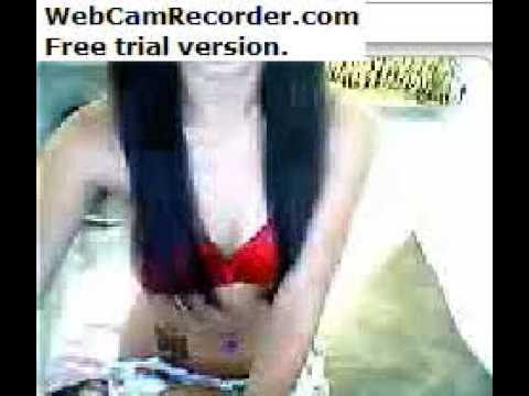 sexy lhady in front of webcam