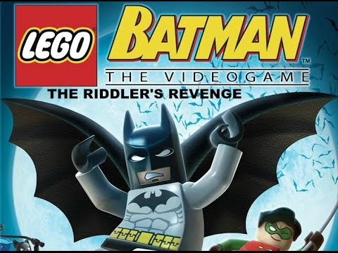 Lego Batman Ps2 Walkthrough Playthrough Chapter 1 The Riddlers