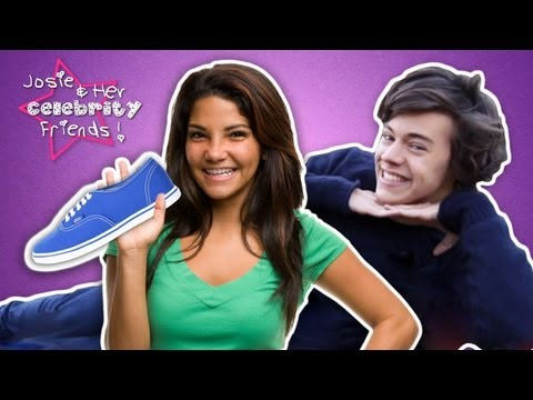 Harry Style Gets Hits With Taylor Swift's shoe, Josie & Her Celebrity Friends