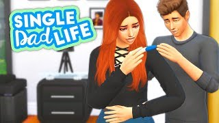 TAKING A PREGNANCY TEST! POSITIVE OR NEGATIVE?👶🍼 // THE SIMS 4 | SINGLE DAD LIFE #55
