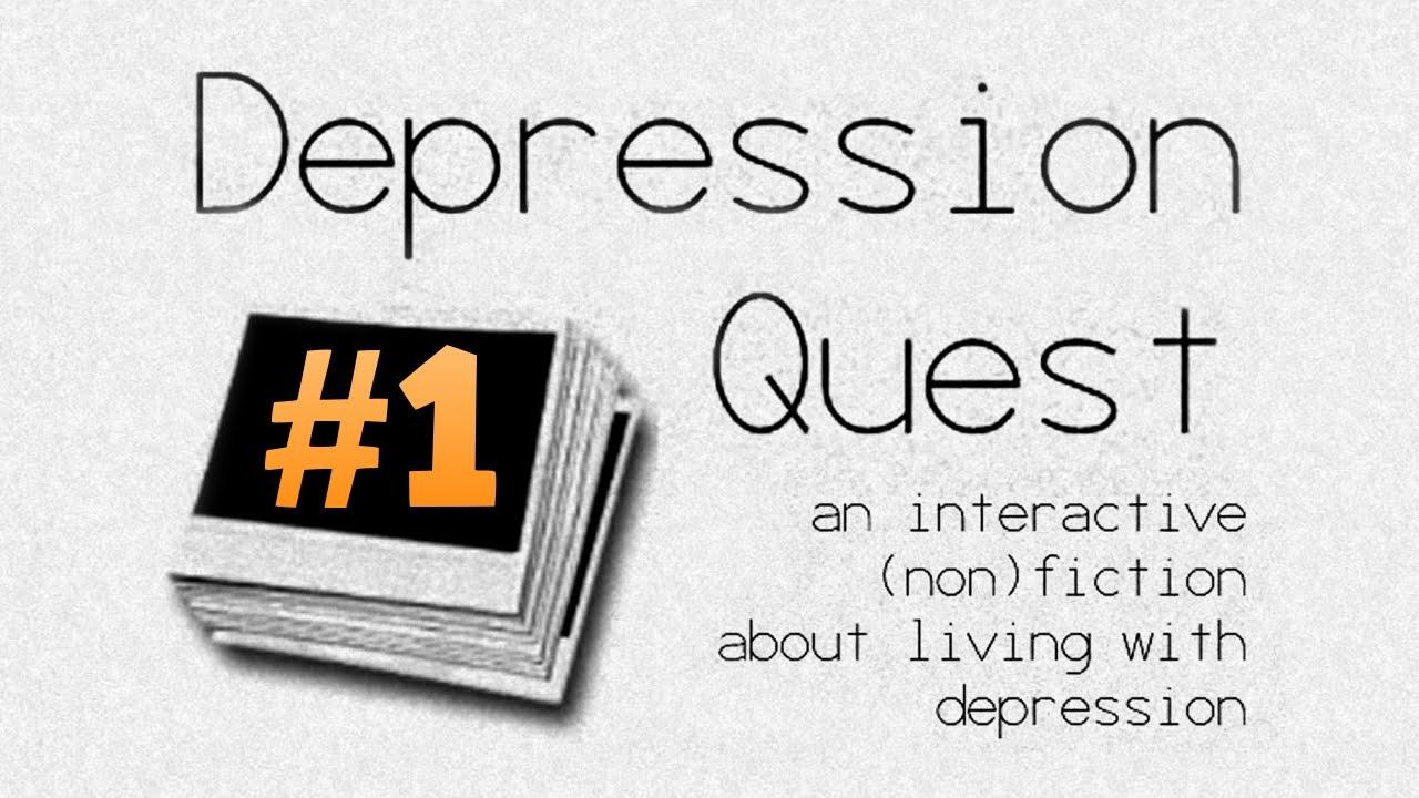 PERSONAL EXPERIENCES! | Part 1 | Depression Quest - YouTube