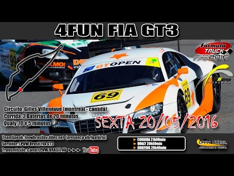 4FUN FIA GT3 European Autódromo Gilles Villeneuve / Montreal  - CAN