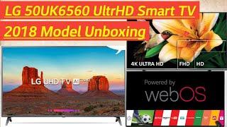 LG 50UK6560 4K ULTRA HD Smart TV