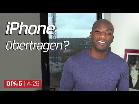 Daten vom alten iPhone oder Android-Handy auf neues iPhone übertragen - iCloud Backup - DIYin5 ep26