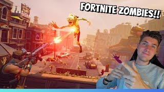 ZOMBIES I FORTNITE?? SPELAR SAVE THE WORLD!