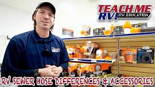 Teach Me RV!- RV sewer hose differences & accessories from Keystone RV Center.