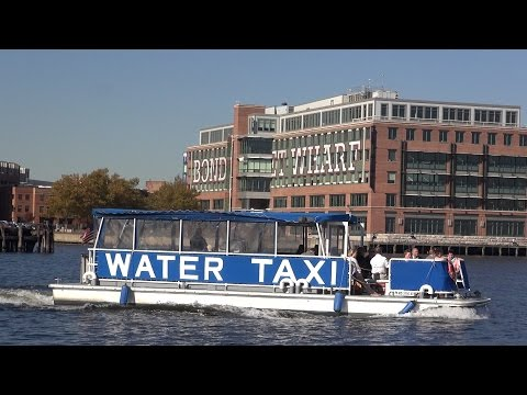Baltimore Water Taxi Service -- REAL United States Episode 196