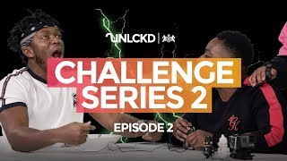 KSI AND DEJI ELECTROCUTED: UNCLKD Challenge Series | Season 2 Episode 2
