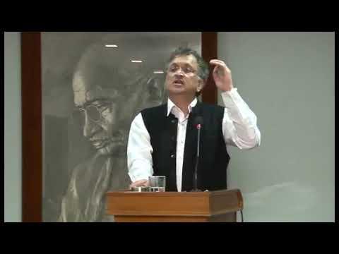 Ramchandra Guha's lecture in Mani Bhavan