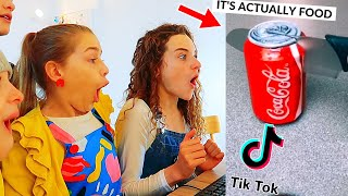 REACTING TO CRAZY FOOD TIKTOKS w/ The Norris Nuts