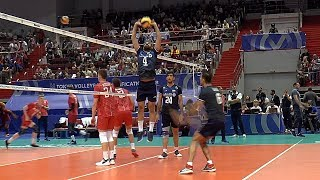 Волейбол Нападающий удар Сборная России vs Ирана 2