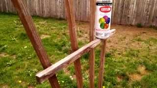 Diy Quick Easy Wood Stain Trick