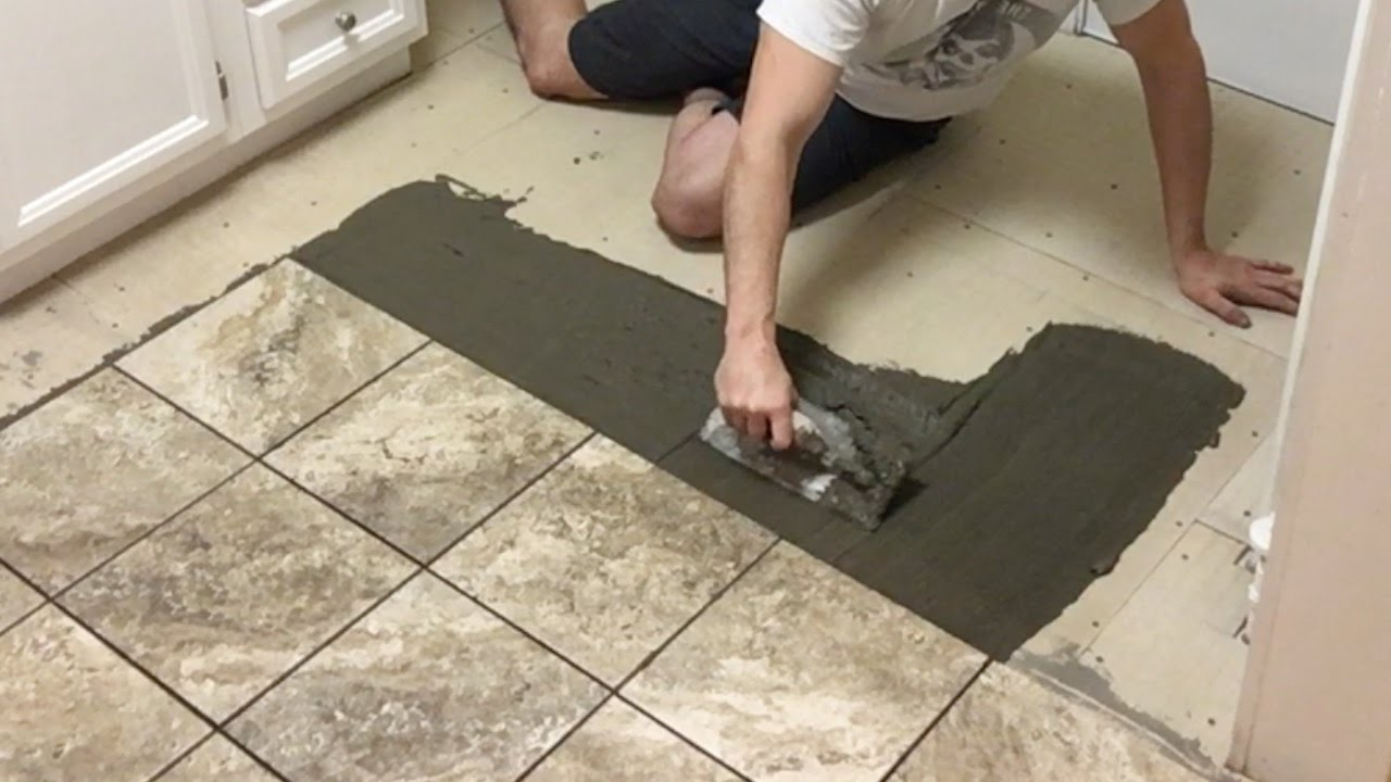 How To Install Tile Flooring  YouTube
