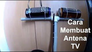 Cara Membuat Antena TV dengan Barang Bekas