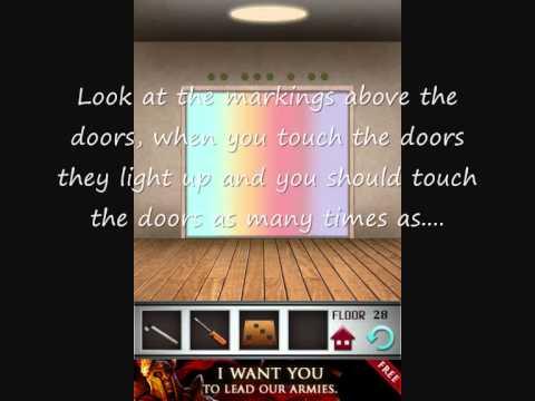 100 Floors Level 28 Walkthrough Solution Iphone Ipad Youtube