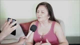Prefeita Tina Monteles esclarece boato sobre o seu estado de saúde para Imprensa.