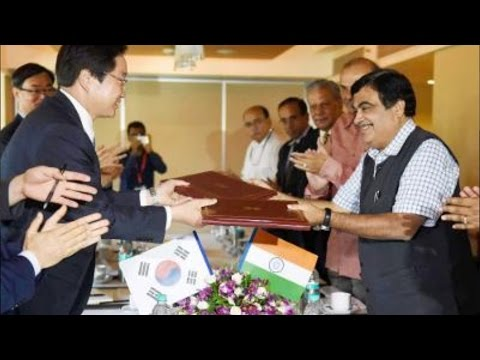 India, South Korea Sign Pact For Developing Ports