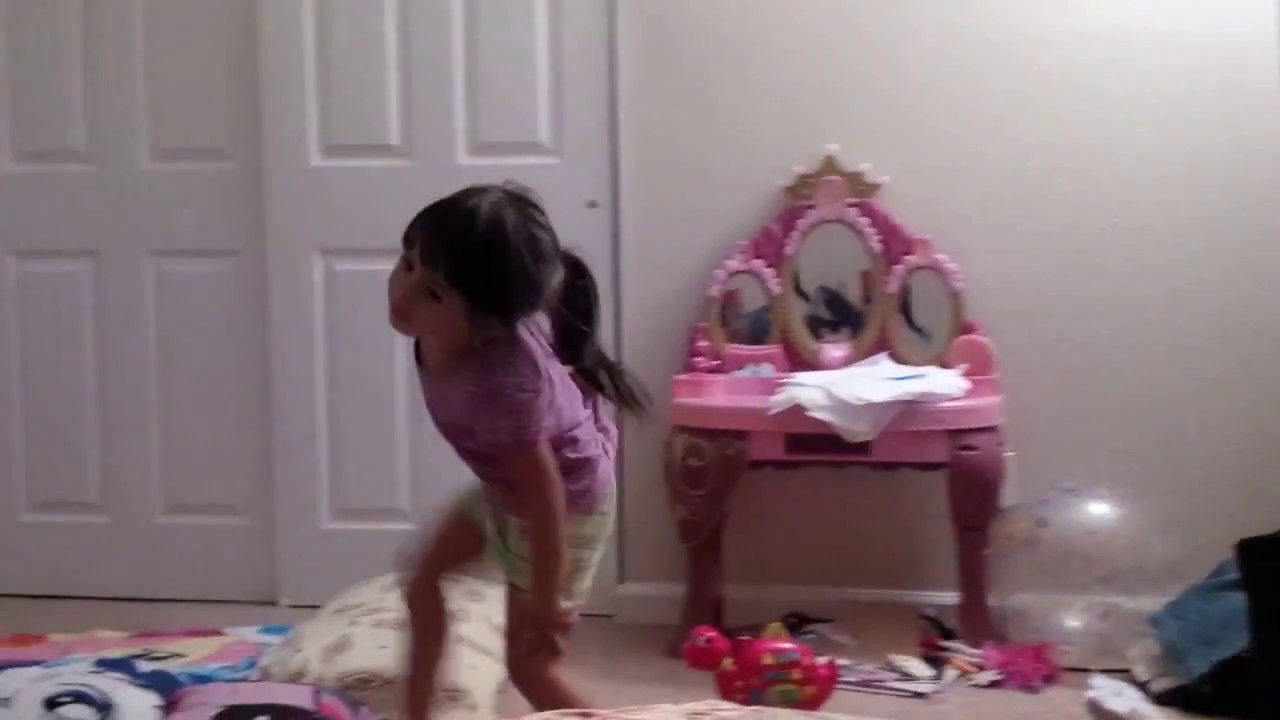 Kelly cutie dancing gracefully