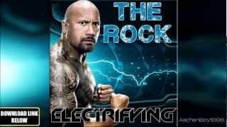 "WWE Dwayne ""The Rock"" Johnson 24th Theme Song ""Electrifying"" CD Quality + Download Linkᴴᴰ"
