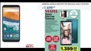 A101 Vestel Venüs Z20 Geliyor