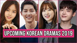 16 Upcoming Korean Dramas 2019 You Cant Miss to Watch