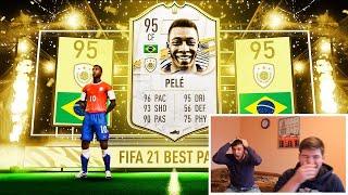 ПЕЛЕ В ПАКЕ ЗА 7500 МОНЕТ FIFA 21