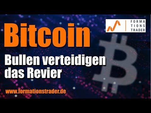 Bitcoin: Bullen verteidigen das Revier