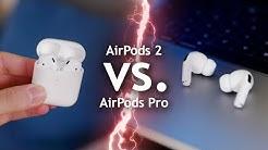 AirPods Pro vs. AirPods 2 - Welche kaufen? (Empfehlung)