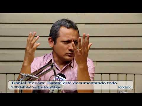 Daniel Yovera: Barata está documentando todo
